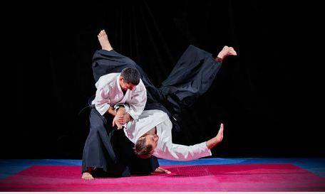 Luxaciones del arte marcial Aikido
