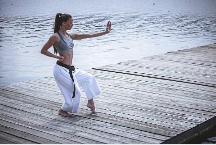 El karate, una forma de alcanzar el equilibrio en la vida
