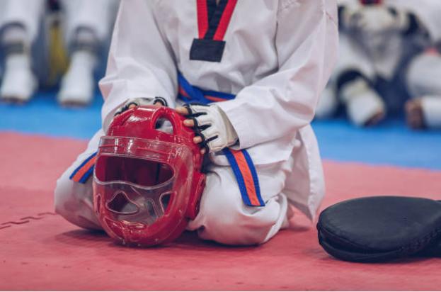 Equipamiento para karatecas