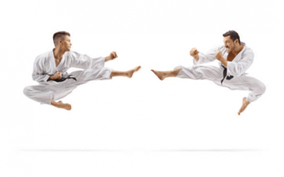 6 actores especialistas en karate