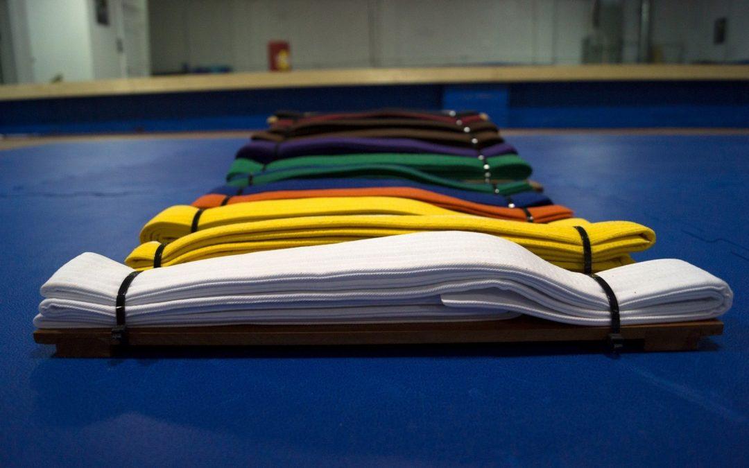 Significado del color de cada cinturón en Karate