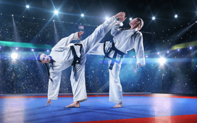 Deportes de combate olímpico que queman más calorías: boxeo, judo y taekwondo