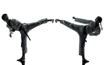 Cómo dar un golpe fuerte en taekwondo