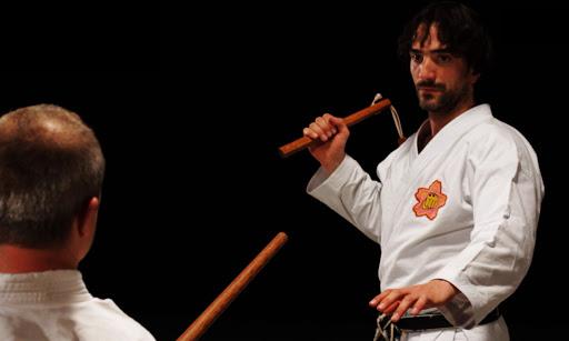 Técnica de Okinawa Kobudo