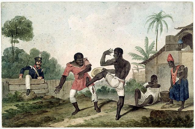 Capoeira autodefensa