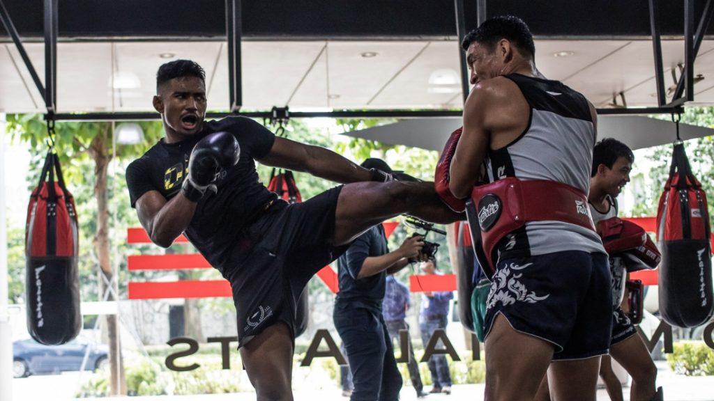Muay Thai: varias técnicas de defensa personal