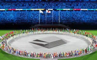 13 karatekas ondearon las banderas de sus países en la Ceremonia de Clausura de los Juegos Olímpicos