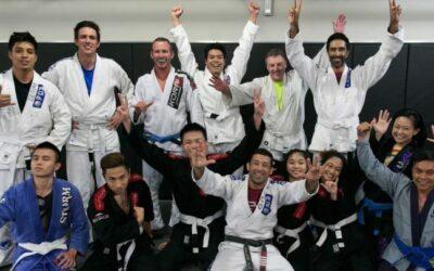Amistad a través de las artes marciales